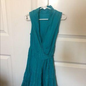 Boutique wrap around summer dress